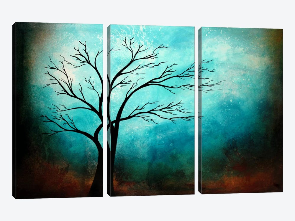 Breath by Heather Offord 3-piece Canvas Print