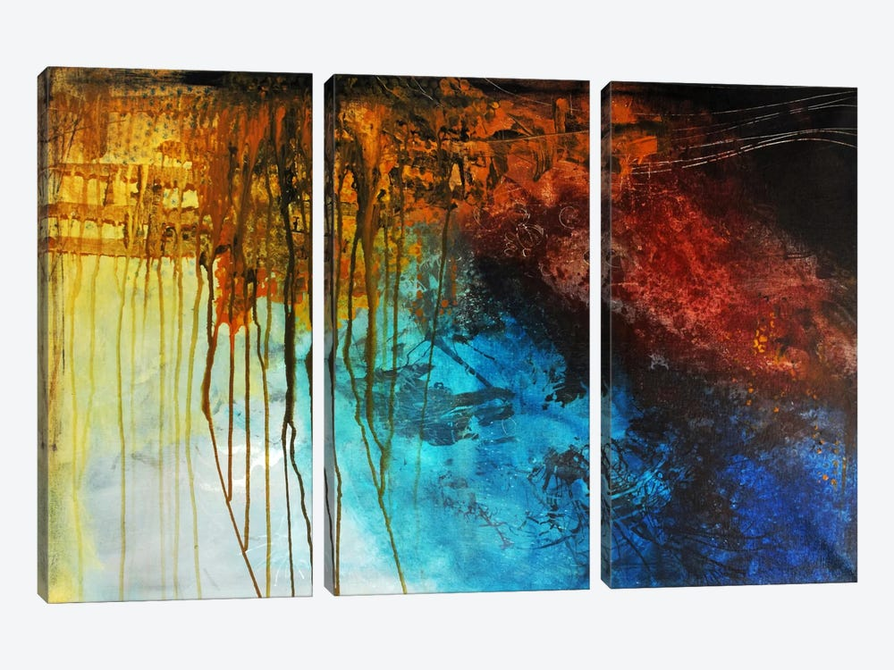 A New World by Heather Offord 3-piece Canvas Art