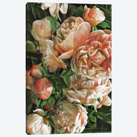 Botanical Passion Canvas Print #HOD528} by Heather Offord Art Print