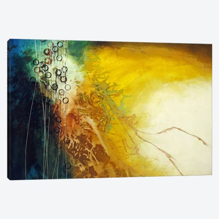 Connection Canvas Print #HOD62} by Heather Offord Canvas Art
