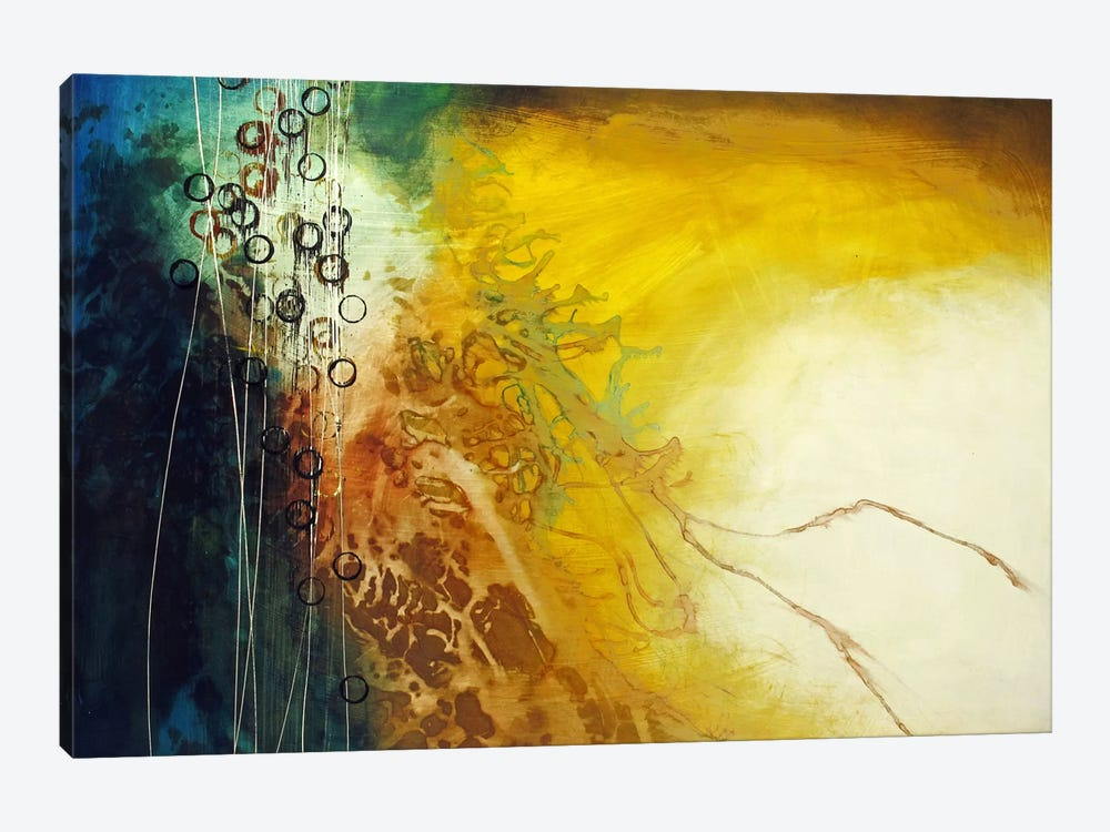 Connection by Heather Offord 1-piece Canvas Wall Art