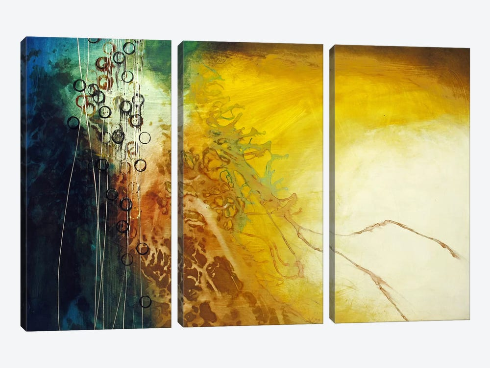 Connection by Heather Offord 3-piece Canvas Art