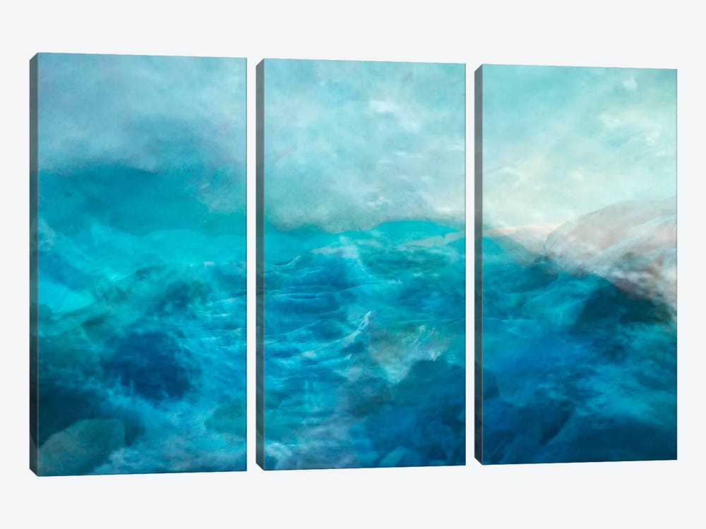 Courage by Heather Offord 3-piece Canvas Print