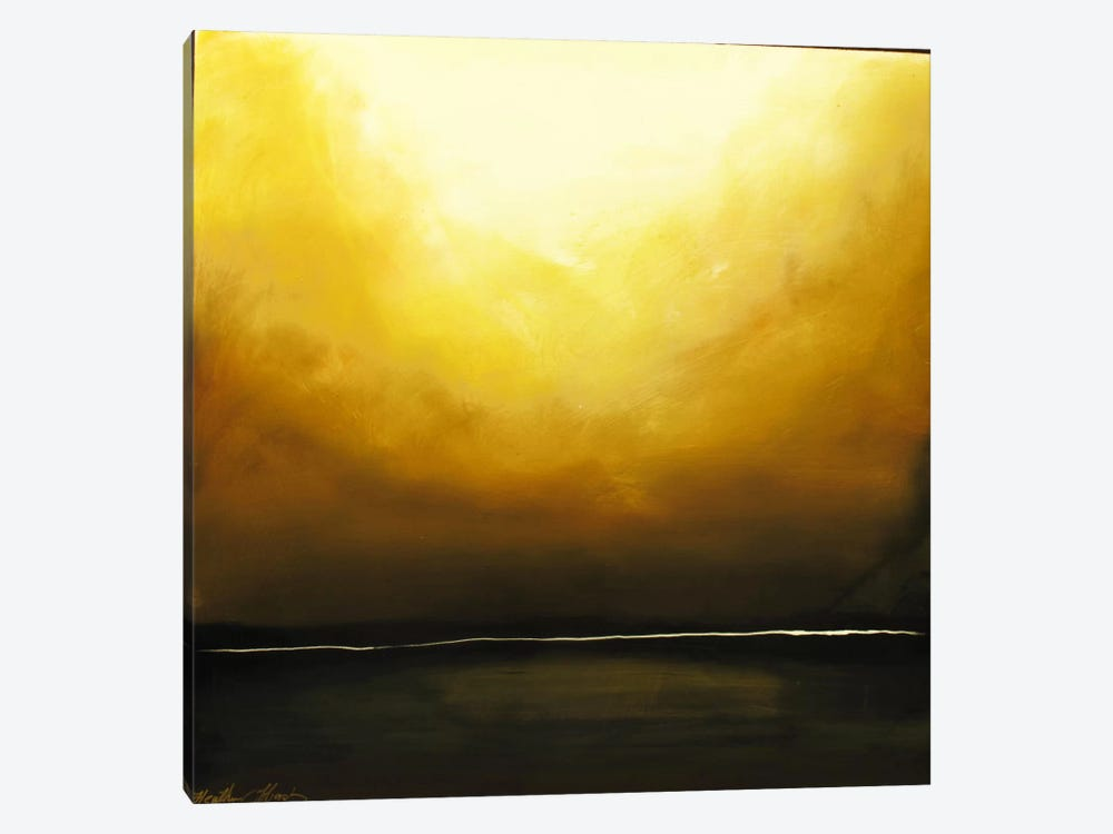 Days End by Heather Offord 1-piece Canvas Art Print