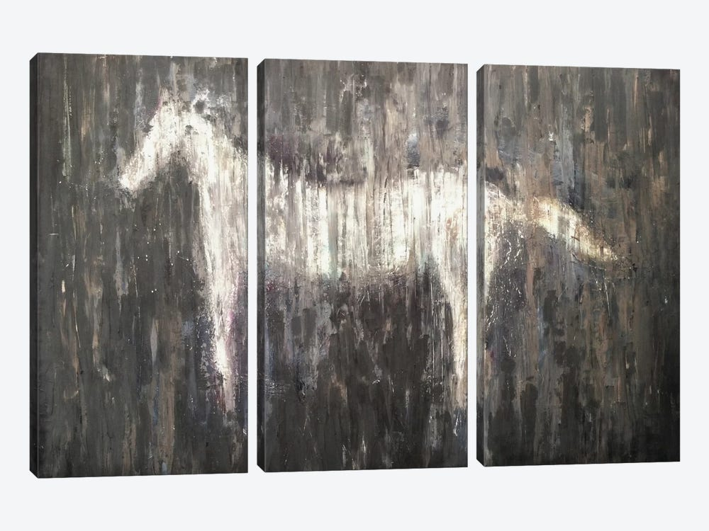 Diligent by Heather Offord 3-piece Canvas Artwork
