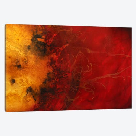 Dimensional Considerations Canvas Print #HOD73} by Heather Offord Art Print
