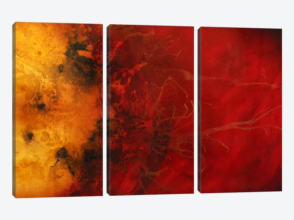 Dimensional Considerations by Heather Offord 3-piece Canvas Art