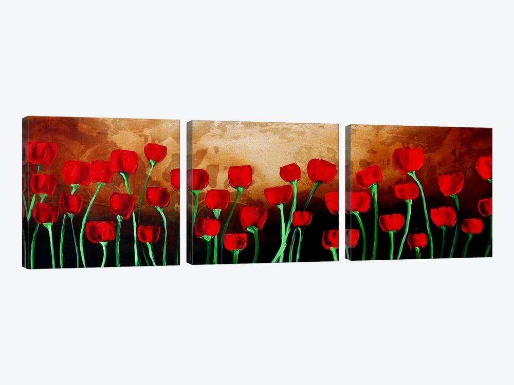 Draw Me Closer by Heather Offord 3-piece Canvas Art