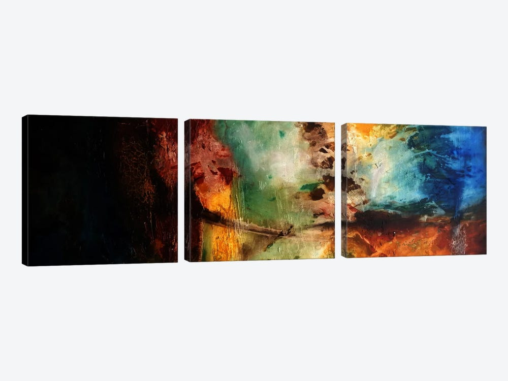 Dynamics Of Change by Heather Offord 3-piece Canvas Wall Art
