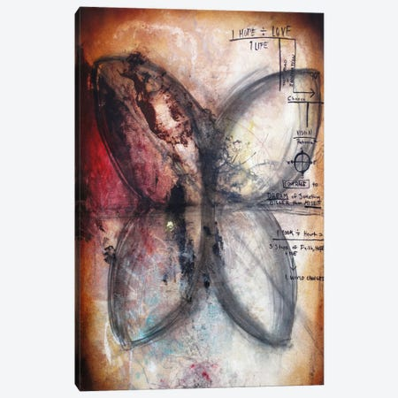 Equations Canvas Print #HOD89} by Heather Offord Canvas Artwork