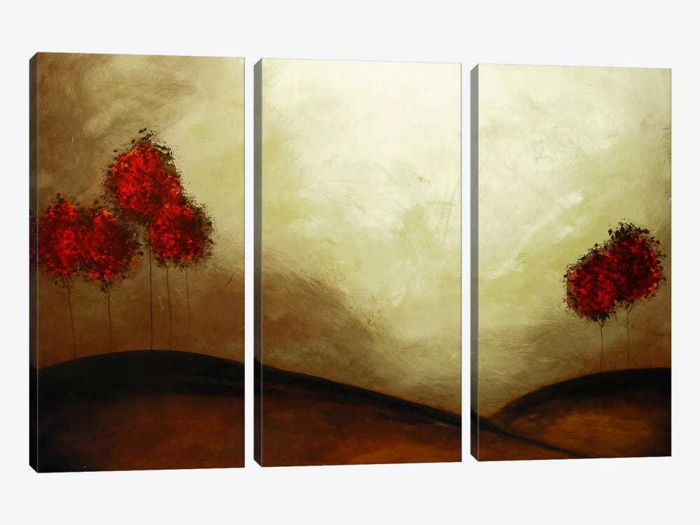 Family #1 by Heather Offord 3-piece Canvas Print