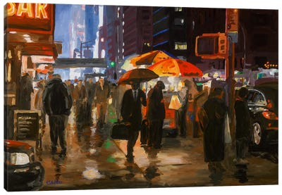 6th Avenue, New York Canvas Art Print