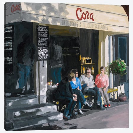 Cora Canvas Print #HOF2} by HJ Hofstra Canvas Print