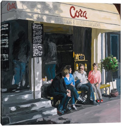 Cora Canvas Art Print