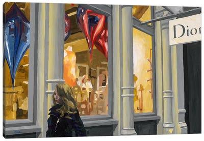 Shopping Canvas Art Print