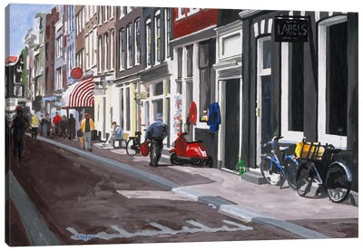 Street Canvas Art Print