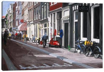 Street Canvas Art Print