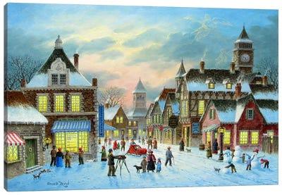 Town Village II Canvas Art Print