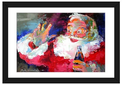 Claus Framed Art Print