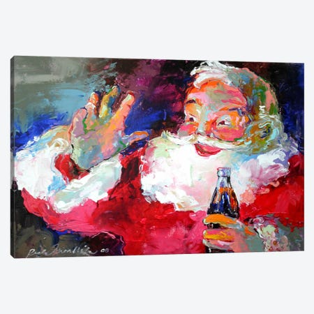 Claus Canvas Print #HOL39} by Richard Wallich Canvas Art Print