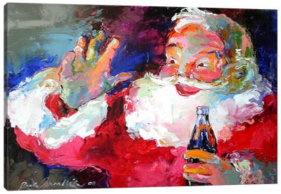 Claus Canvas Art Print
