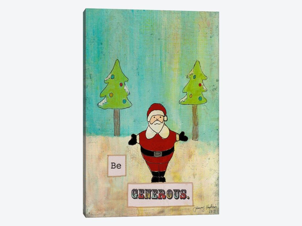 Be Generous by Tammy Kushnir 1-piece Canvas Art