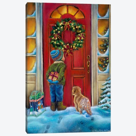 Home for the Holidays Canvas Print #HOL49} by Tricia Reilly-Matthews Canvas Art