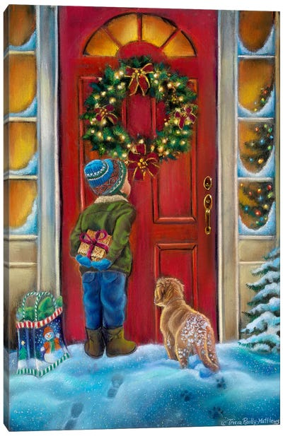 Home for the Holidays Canvas Art Print