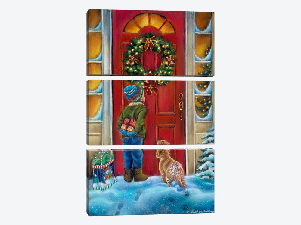 Home for the Holidays by Tricia Reilly-Matthews 3-piece Canvas Artwork