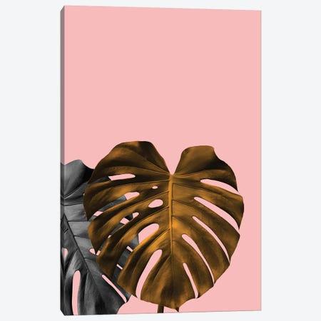 Gold Leaf Canvas Print #HON106} by Honeymoon Hotel Canvas Art