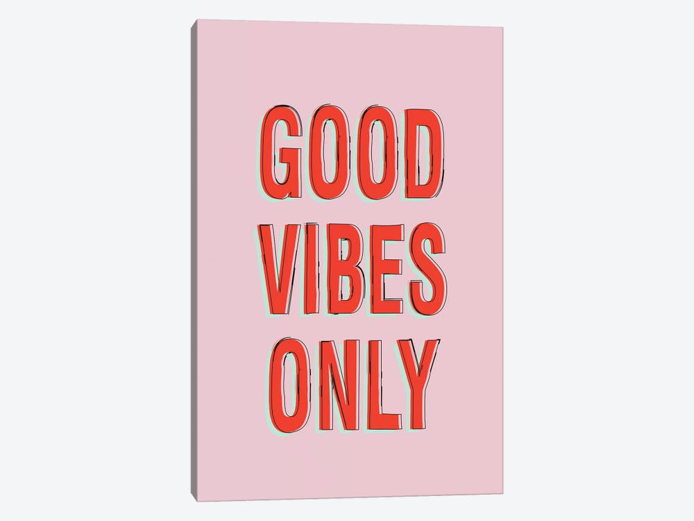Good Vibes Only by Honeymoon Hotel 1-piece Canvas Artwork