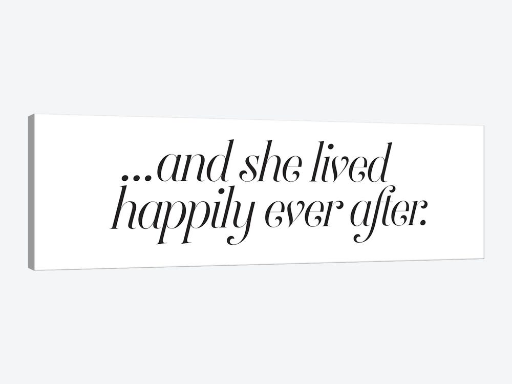 Happily Ever After by Honeymoon Hotel 1-piece Canvas Art