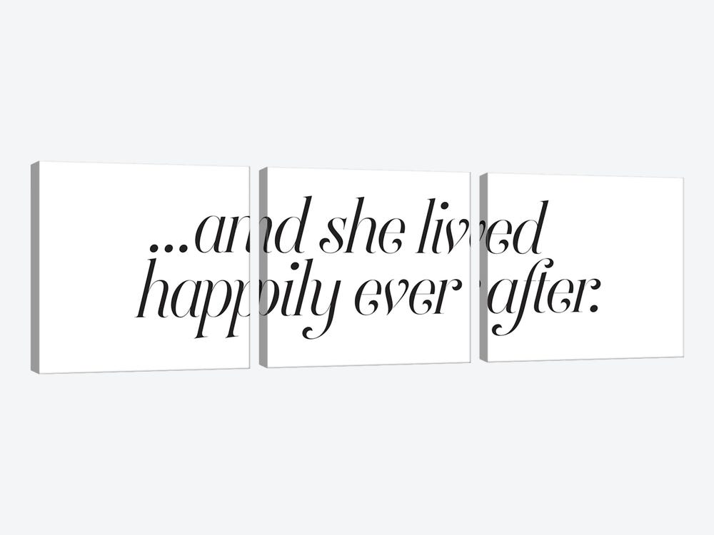 Happily Ever After by Honeymoon Hotel 3-piece Canvas Artwork