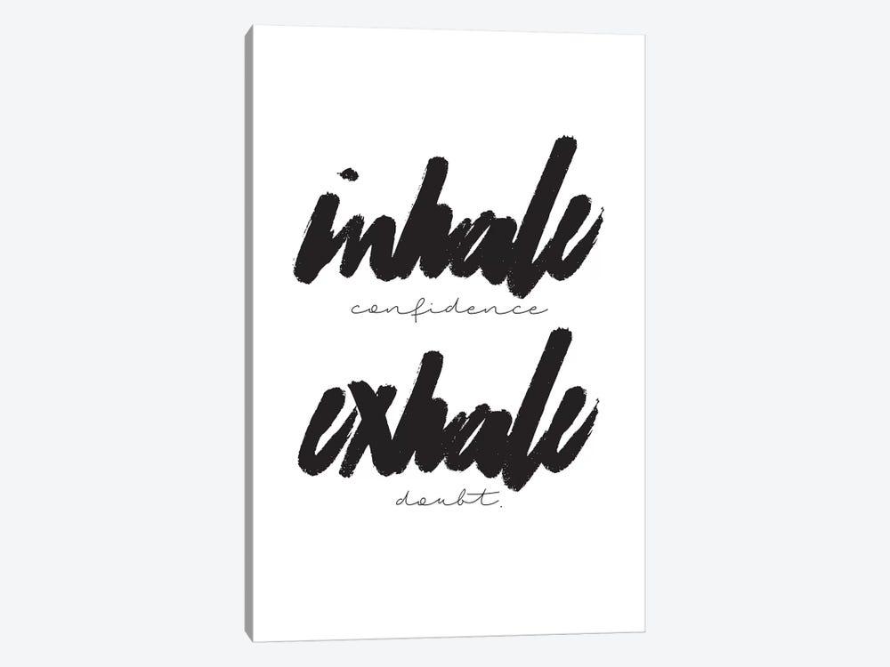 Inhale/Exhale by Honeymoon Hotel 1-piece Canvas Print