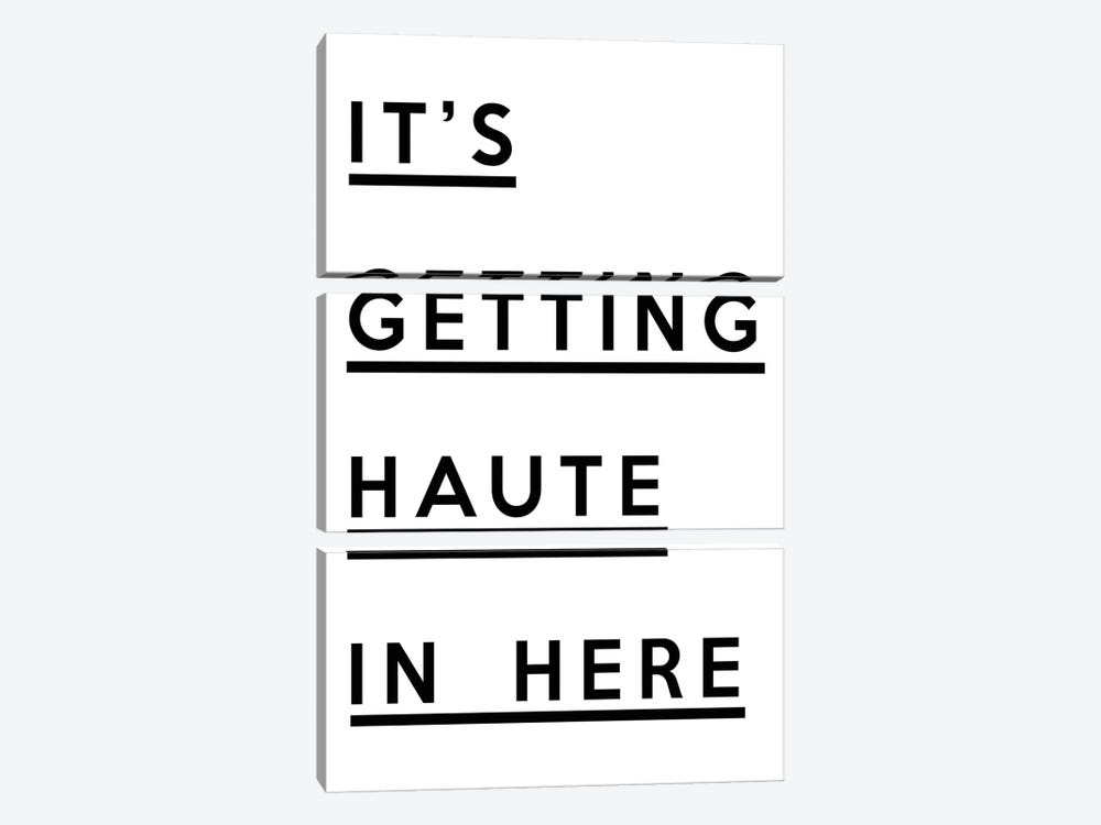 It's Getting Haute In Here by Honeymoon Hotel 3-piece Canvas Artwork