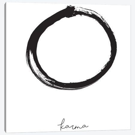 Karma Canvas Print #HON144} by Honeymoon Hotel Canvas Art