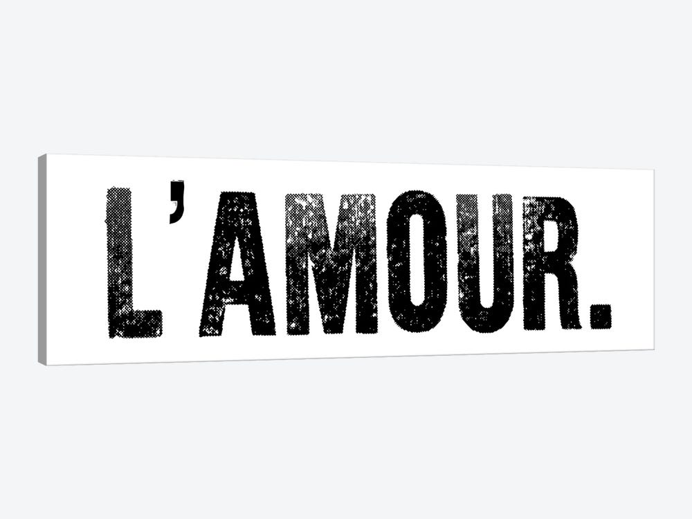 L'Amour. by Honeymoon Hotel 1-piece Canvas Art Print