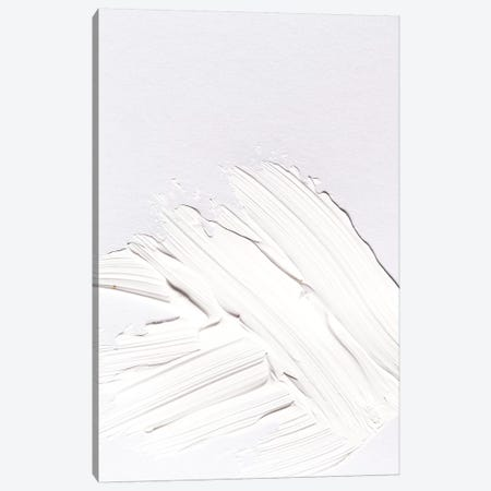 Minimal White Canvas Print #HON175} by Honeymoon Hotel Art Print