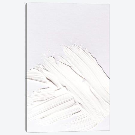 Minimal White Canvas Print #HON175} by Honeymoon Hotel Art Print