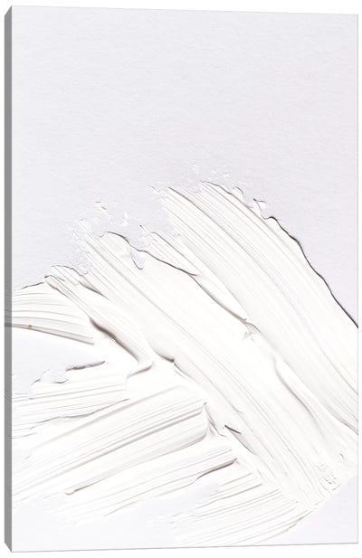 Minimal White Canvas Art Print