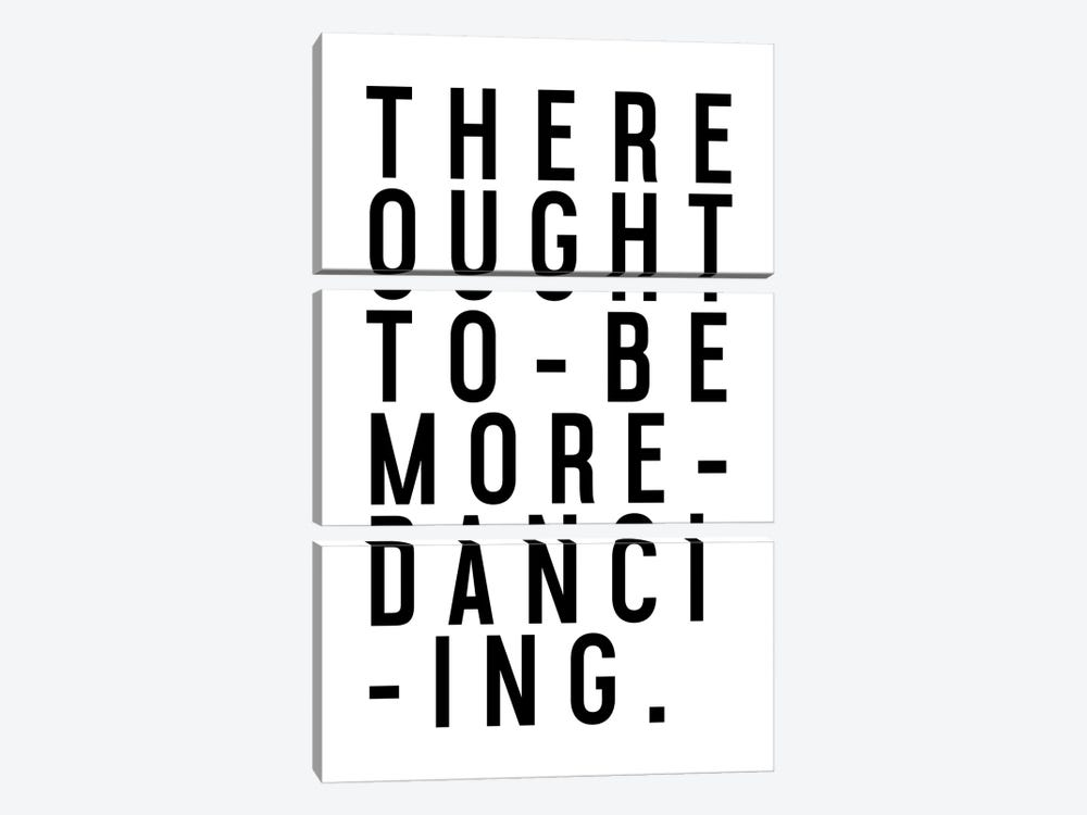 More Dancing by Honeymoon Hotel 3-piece Canvas Print