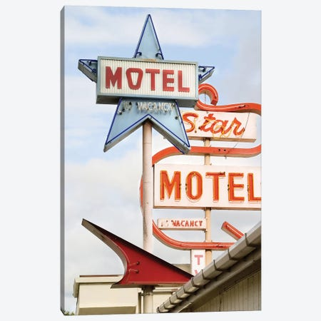 Motel Canvas Print #HON181} by Honeymoon Hotel Canvas Print