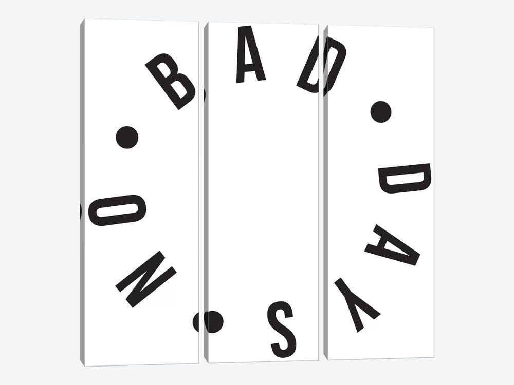 No Bad Days by Honeymoon Hotel 3-piece Canvas Art