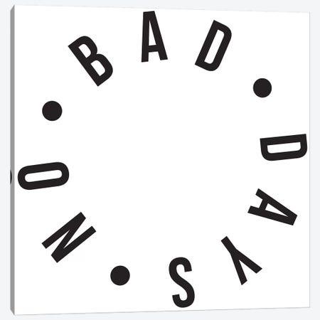 No Bad Days 3-Piece Canvas #HON187} by Honeymoon Hotel Canvas Artwork