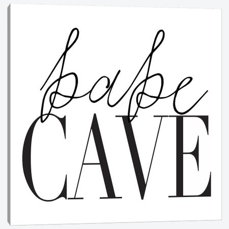 Babe Cave I Canvas Print #HON18} by Honeymoon Hotel Canvas Art Print