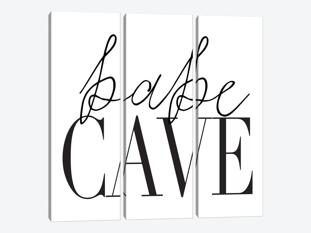 Babe Cave I by Honeymoon Hotel 3-piece Art Print