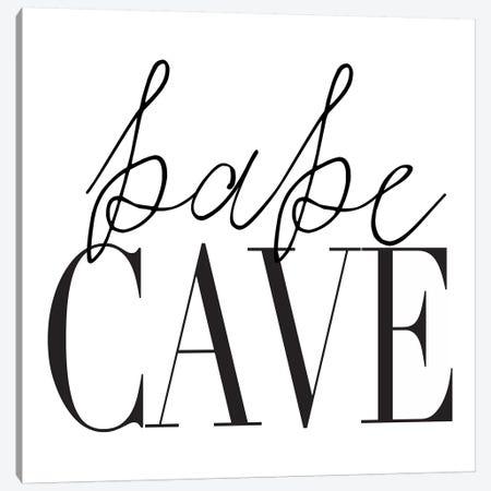 Babe Cave I Canvas Print #HON18} by Honeymoon Hotel Canvas Art Print