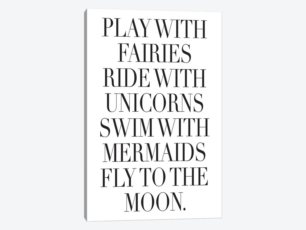 Play With Fairies by Honeymoon Hotel 1-piece Canvas Artwork