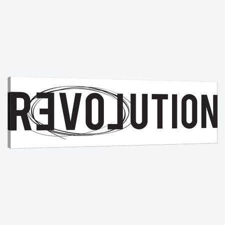 Revolution Canvas Print #HON218} by Honeymoon Hotel Art Print