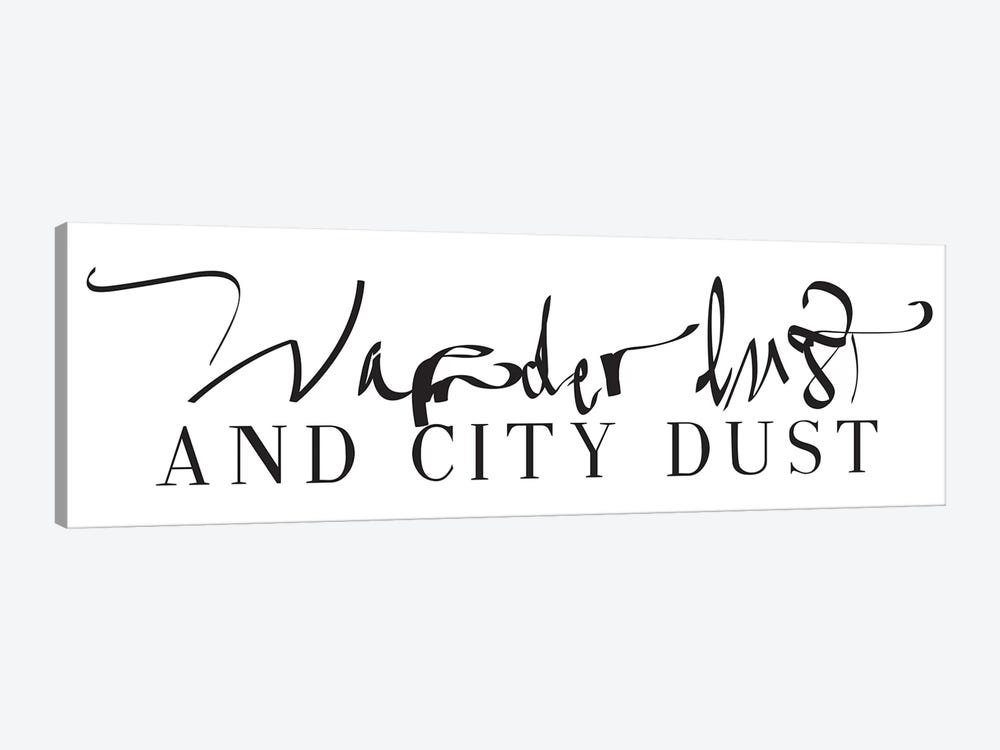 Wanderlust And City Dust by Honeymoon Hotel 1-piece Canvas Artwork